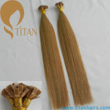 Indian Human Remy Virgin Hair Flat Tip Hair Extension