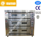 3 Deck 9 Layer Bakery Electric Pizza Deck Baking Oven