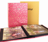 2015 Fast Selling Embossing Leather Children Albums (AC-016)