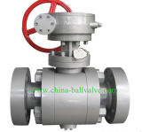 Forged Steel API6d Trunnion Ball Valve (150LB-1500LB)