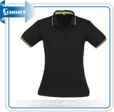 Black Sublimation Women Top Running Clothing (ATPL-0153)