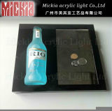 Acrylic LED Coin Tray for Wine Advertising