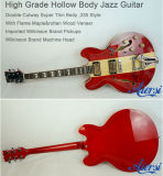Hot Sale Arch Body Semi Gypsy Jazz Electric Guitar