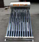 Stainless Steel Thermasiphon Solar Water Heater with Sun Max Reflector