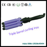 Professioanal Salon Hair Curling Iron with Three Tube (A3319)