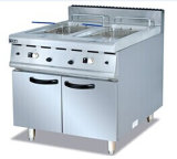 2-Tank Fryer (2-basket) with Cabinet
