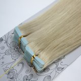 Double Drawn European Remy Blue Tape Human Hair Extension