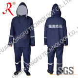 Waterproof Firemen Rain Suit for Rescue (QF-009)