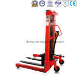 1t Adjustable Base Legs Manual Stacker