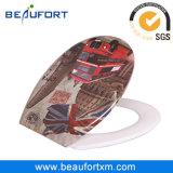 European Bathroom Fitting UF Material Soft Close Toilet Seat