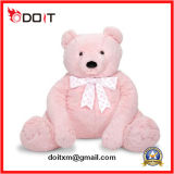 5FT Pink Big Teddy Bear Toy with Hook & Loop Back