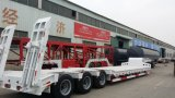 China Manufacture 3 Axles Low Bed Semi Trailer New Product