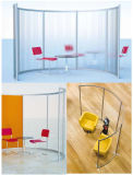 Transparent Screen Exhibition Stand