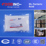 Dl-Tartaric Acid food grade in Acidity Regulators
