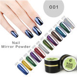 12 Glitter Chrome Color Ibn Mirror Gel Nail Chrome Magic Powder