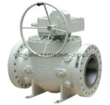 Fixed Ball Valve with Cant Jacket Type Ball Valve