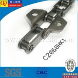 C2060HK1 Precision Double Pitch Conveyor Chain with Attachments