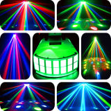 2PCS 10W Full Color LED Butterfly Stage Effect Light