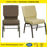 Chinese Cheap Price Steel Banquet Chair School Hall Chair