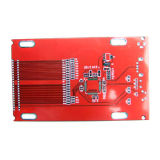 Double Sided PCB with Red Solder Mask Printing