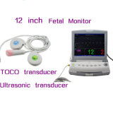 Single Twins Optional 12 Inch Multi Parameter Fhr Toco FM Fetal Monitor Nst Ctg Detecting Fetus Fetal Movement -Javier