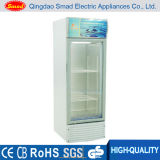 High Quality Single Glass Door Display Showcase for Drinks