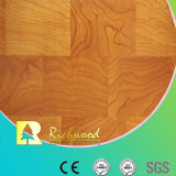 Household 8.3mm E1 HDF Embossed Walnut Water Resistant Laminated Flooring