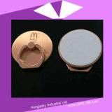 Zinc Alloy Mobile Holder Ring in Rose Golden Plating