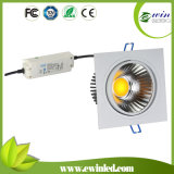 Ewin Dimmable 20W Square COB LED Downlight with CE SAA