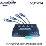 4CH CCTV Coaxial Video Balun for CCTV Surveillance (VB140A)
