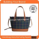 2015 New Ripstop Fabric Fashion Women Handbag