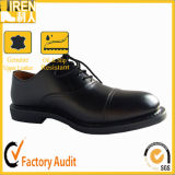 Goodyear Welt Cow Leather Uniform Shoes