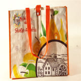 Eco-Friendly Laminated PP Non Woven Promotional Bags (MECO438)