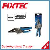 "Fixtec Hand Tools CRV 9"" Long Nose Locking Plier"