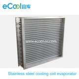 Stainless Steel Tube Stainless Steel Fin Cooling Coil Evaporator