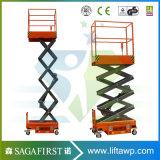 3m 4m Hydraulic Electric Mini Elevator Lift Aerial Lift Platform