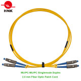 Mu PC/Upc Simplex Duplex Singlemode Multimode Fiber Optic Patch Cord