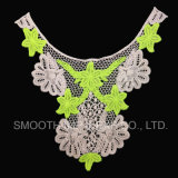 Detachable New Design Embroidered Lace Collar for Women Dress