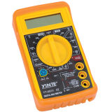 3 1/2 Yellow Color Digital Electric Multimeter with Backlight