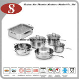 Network TV Sale Waterless Greaseless Stainless Steel Cookware Set