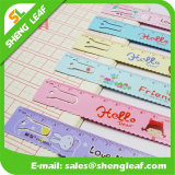 Lovely Cartoom Custom Logo Plastic Ruler for Promotion (SLF-RR009)
