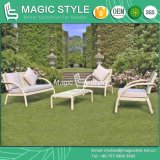 Rattan Sofa with Flower Weaving Modern Sofa Set Wicker Sofa Set (Magic Style)