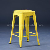 45cm Height Yellow Perforated Tolix H Stools (SP-MC073)