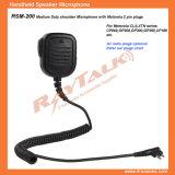 Remote Speaker Microphone for Motorla 2 Pin Radios Cp140/Cp040/Gp300, etc
