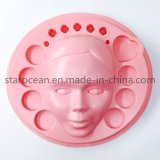 Pink PS Plastic Material Vacuum Forming Tray for Mask