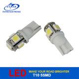 High Quality LED Lighting 12V White 5SMD 5050 T10 Car LED Bulb / LED Light for Car