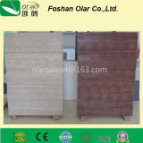 Colored Natural Wood Grain Fiber Cement Siding Board for Home