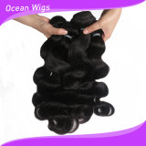 100% Mongolian Virign Remy Body Wave Hair Weft (W-067c)