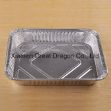 Foil Trays BBQ Aluminum Roasting Disposable Takeaway Container (AC15011)