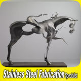 Stainless Steel Animal Sculpture - Horse Design and Fabrcation